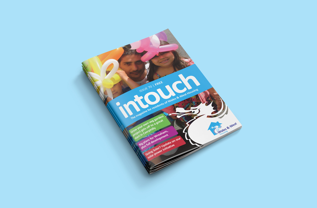 Wales and West Housing InTouch magazine