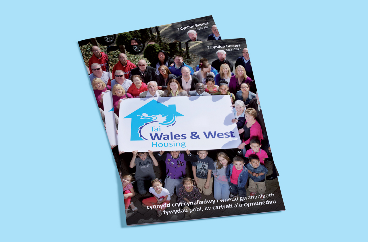 Wales and West Housing Business Plan front cover