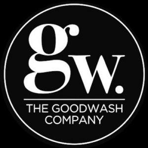 the Goodwash company logo, social enterprise, vegan skincare, luxury brand