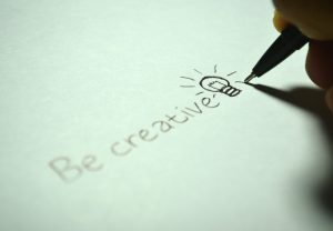 be creative written out