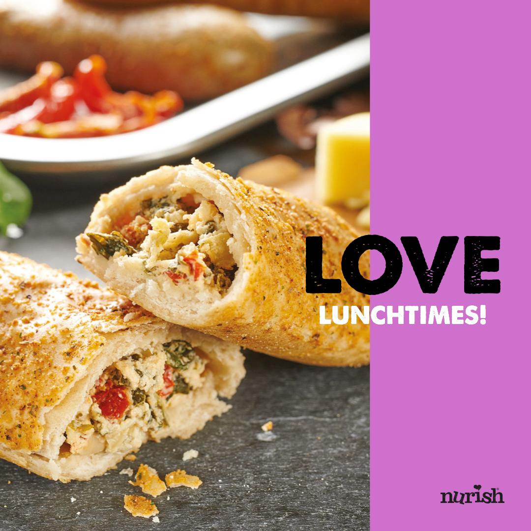 Nurish bake love lunchtimes